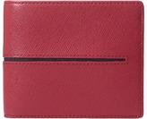 Bugatchi Saffiano Two-Tone Wallet Wallet Handbags