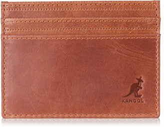 Kangol Leather Card Holder