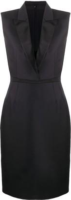 Alexander McQueen Tailored Lapel Dress
