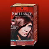 Schwarzkopf Brilliance Redheads Hair Colour 876 Noble Mahogany