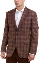 Ike Behar Classic Fit Wool Sportcoat