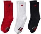 adidas Boys 8-20 3-pk. ClimaLite Compression Crew Socks