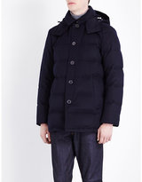 Mackintosh Quilted Storm Wool Coat