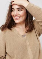 Violeta BY MANGO Silk Cotton-Blend Sweater