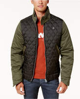 G Star Men's Quilted Colorblocked Jacket