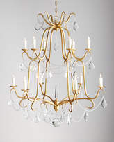 Horchow Marceline 12-Light Crystal Chandelier