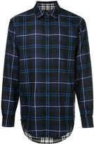 Alexander Wang long-sleeved check shirt