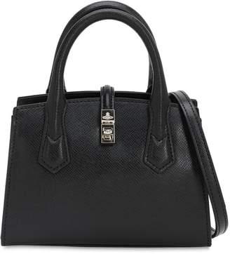 Vivienne Westwood SOFIA SMALL SAFFIANO TOP HANDLE BAG