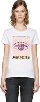 Kenzo White paradise Flyer T-shirt