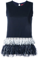 Coohem fringed trip top - women - Cotton - 40