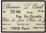 """Brasserie 19"""" x 27"""" Tapestry Rug"""