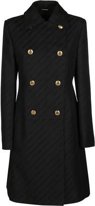 Givenchy Black Cotton-viscose Blend Coat