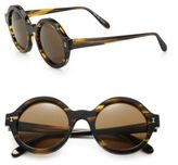 Illesteva Frieda 48MM Round Sunglasses