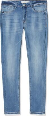 Ichi Women's Erin Izaro Light Blue Bleached Jeans