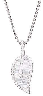Anita Ko Women's 18K Gold & Diamond Leaf Necklace