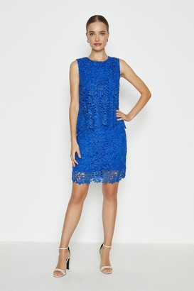 Coast Lace Overlay Dress