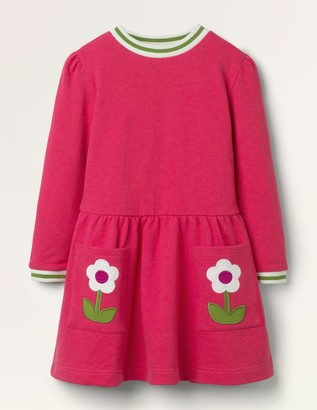 Applique Pocket Dress