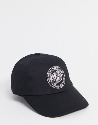 Santa Cruz MFG Dot cap in black