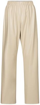 Deveaux Savannah faux leather pants