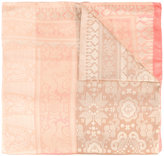 Etro jacquard scarf - women - Silk/Viscose/Cotton/Metallic Fibre - One Size
