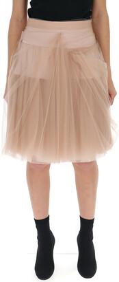 Prada High Waisted Tulle Skirt