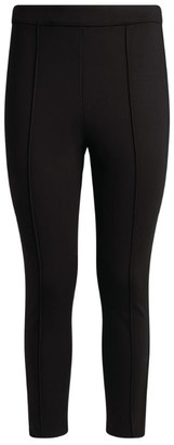 Tory Burch Ankle-Crop Ponte Trousers