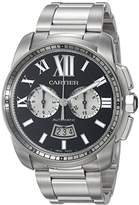 Cartier Men's W7100061 Analog Display Swiss Automatic Silver Watch