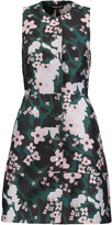 Markus Lupfer Floral-jacquard mini dress