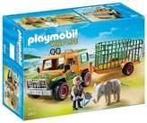 Playmobil 6937 Wild Life Ranger's Truck with Elephant