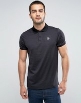Hollister Athleisure Polo In Black