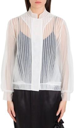Simone Rocha Pleated Tulle Jacket