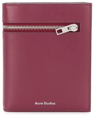 Acne Studios Trifold Zip Wallet