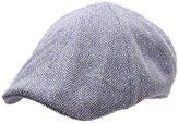 Stetson Poteau Silk Flat Cap Size L