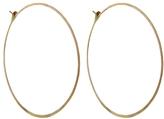 Melissa Joy Manning Extra Large Hoop Earrings - Yellow Gold