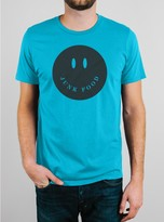 Junk Food Clothing Smiley Face Tee-parbl-xxl