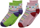 Jefferies Socks Daisy Anklet 2-Pair Pack Girls Shoes
