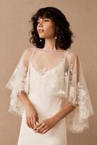 Thumbnail for your product : Jenny Yoo Jenny by Odessa Capelet By in White Size L