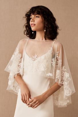 Jenny Yoo Jenny by Odessa Capelet By in White Size L