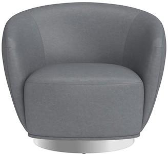 Williams-Sonoma Alexis Leather Swivel Chair