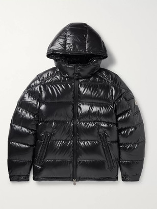 Moncler Maya Quilted Shell Hooded Down Jacket