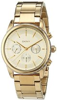 DKNY Women's Watch Rock Away Chronograph Quartz Stainless Steel Coated NY2330