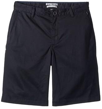 Billabong Kids Carter Shorts (Big Kids) (Black) Boy's Shorts
