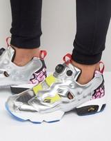Reebok Instapump Fury OG Sneakers In Silver AR1445