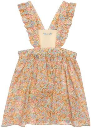 Gucci All Over Print Cotton Muslin Dress