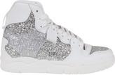 Chiara Ferragni Glitter Basket Sneakers