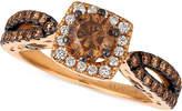 LeVian Le Vian Chocolatier Diamond Engagement Ring (1-1/5 ct. t.w.) in 14k Rose Gold