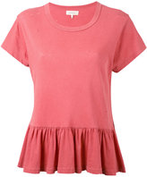 The Great peplum t-shirt - women - Cotton - XXS