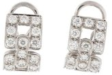 Tiffany & Co. Diamond Deco Ear Clip Earrings
