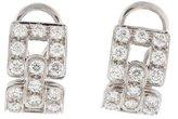 Tiffany & Co. Diamond Deco Earclip Earrings