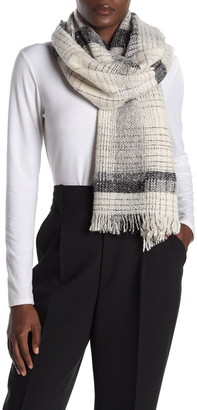 Amicale Wool Blend Woven Scarf